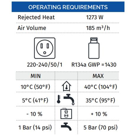 Icematic-Italian-Ice-Maker-CS35-Ice-Operating