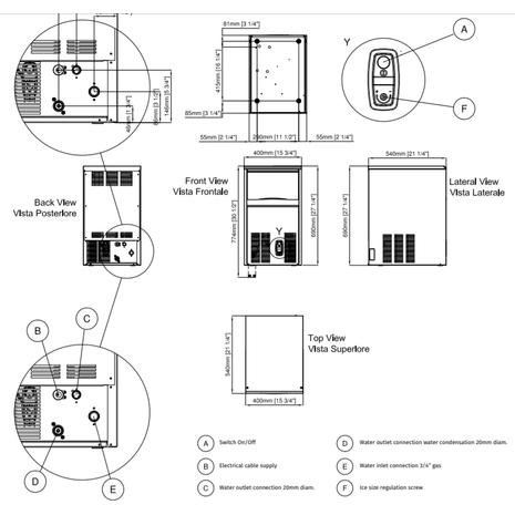 Icematic-Italian-Ice-Maker-CS35-Schematic
