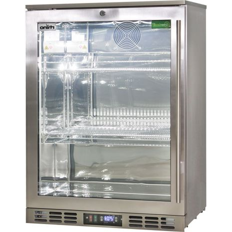 Rhino-Glass-Door-Bar-Fridge-Stainless-Steel-Alfresco-SG1L-SS  1