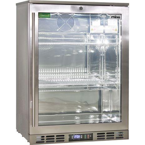 Rhino-Glass-Door-Bar-Fridge-Stainless-Steel-Alfresco-SG1R-SS  1