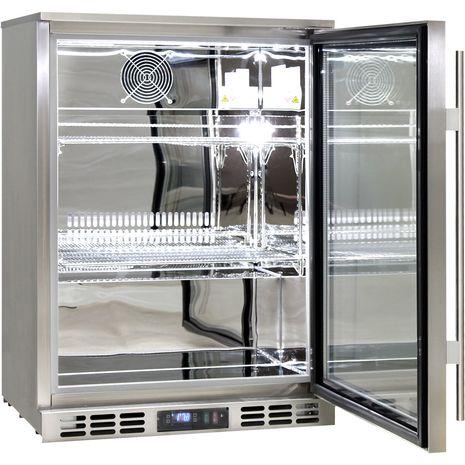 Rhino-Glass-Door-Bar-Fridge-Stainless-Steel-Alfresco-SG1R-SS  2