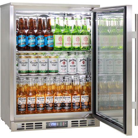 Rhino-Glass-Door-Bar-Fridge-Stainless-Steel-Alfresco-SG1R-SS  5