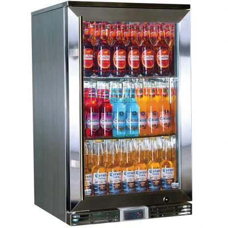 Rhino GSP Alfresco Glass Door Bar Fridge Model GSP0H-SS-(1)