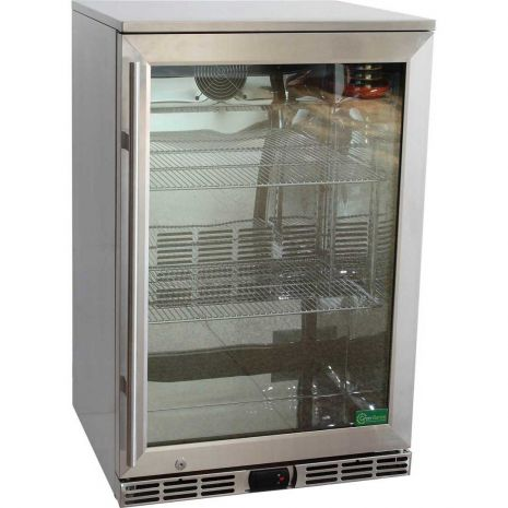 Rhino GSP Alfresco Glass Door Bar Fridge Model GSP0H-SS-(2)