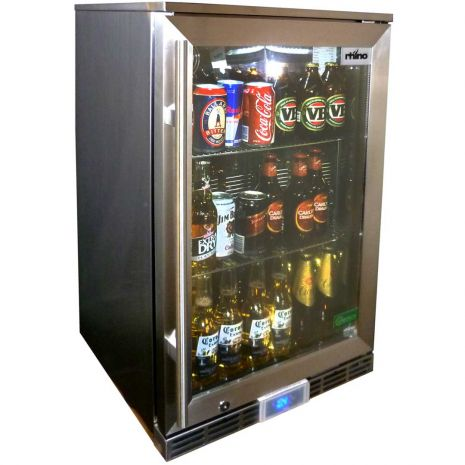 Rhino GSP Alfresco Glass Door Bar Fridge Model GSP0H-SS-(3)
