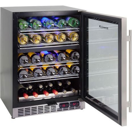 Dual-Zone-Quiet-Under-Bench-Fridge-YC150D (6)