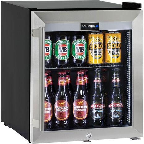 Mini-Bar-Fridge-Glass-Door-Alfresco-Quiet-HUS-SC50-SS
