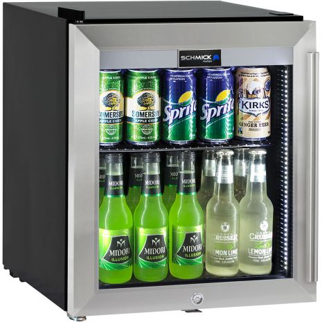 Mini-Bar-Fridge-Glass-Door-Alfresco-Quiet-HUS-SC50L-SS  1