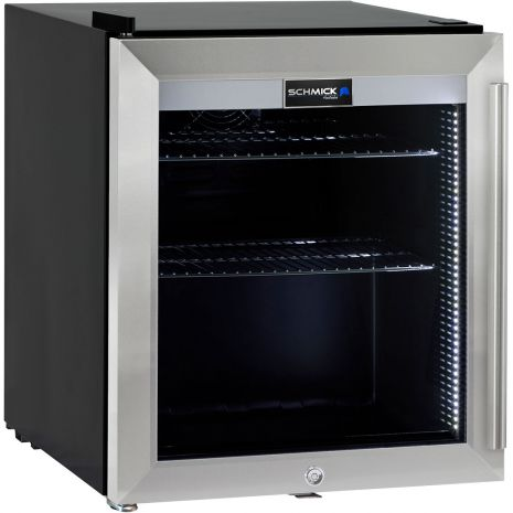 Mini-Bar-Fridge-Glass-Door-Alfresco-Quiet-HUS-SC50L-SS  3
