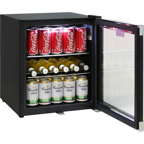 Schmick-Black-Mini-Glass-Door-Bar-Fridge-With-Lock  4
