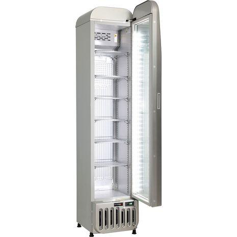 Tall-Skinny-Thin-Bar-Fridge-Glass-Door-Schmick-SK135R-S  2