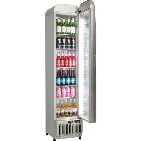 Tall-Skinny-Thin-Bar-Fridge-Glass-Door-Schmick-SK135R-S  3