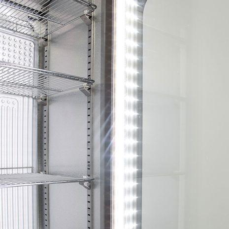 Tall-Skinny-Thin-Bar-Fridge-Glass-Door-Schmick-SK135R-S  6