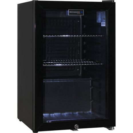Black-Mini-Quiet-Glass-Door-Bar-Fridge-HUS-SC70-B-Schmick  1