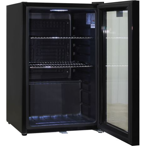 Black-Mini-Quiet-Glass-Door-Bar-Fridge-HUS-SC70-B-Schmick  6