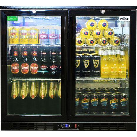 Rhino-Commercial-Bar-Fridge-SG2-NightClub-Led  8