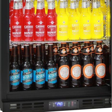 Rhino-Glass-Commercial-Bar-Pub-Fridge-Black-SG1R-B1 gres-ov