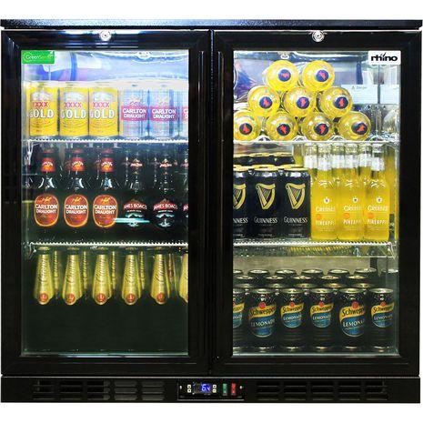 Rhino-Two-Door-Commercial-Fridge-Wine-Shelf (5) bo9l-8s zicr-90