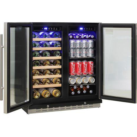 Schmick-Dual-Zone-Beer-And-Wine-Refrigerator-Quiet-Under-Bench  5