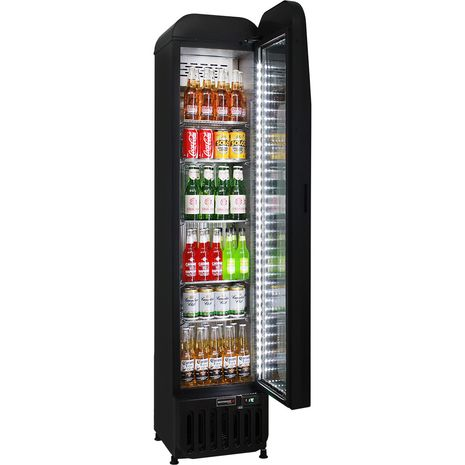 Skinny-Thin-Upright-Glass-Door-Bar-Fridge-SK135  3  ropy-kg