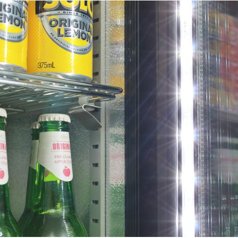 Skinny-Thin-Upright-Glass-Door-Bar-Fridge-SK135  5