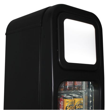 Skinny-Thin-Upright-Glass-Door-Bar-Fridge-SK135  8