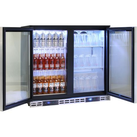 Rhino-Commercial-Dual-Zone-Cold-Beer-Froster-SG2H-DZ  6