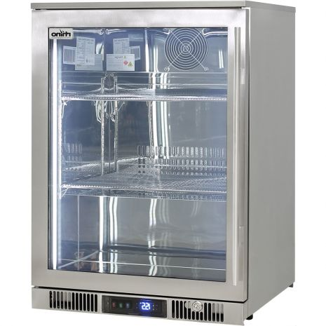 Rhino-ENV1L-SS-Alfresco-316-Stainless-Bar-Fridge-Left-Hinged  1