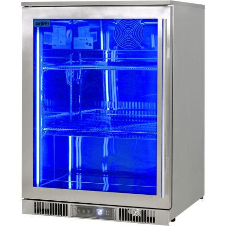 Rhino-ENV1L-SS-Alfresco-316-Stainless-Bar-Fridge-Left-Hinged  2
