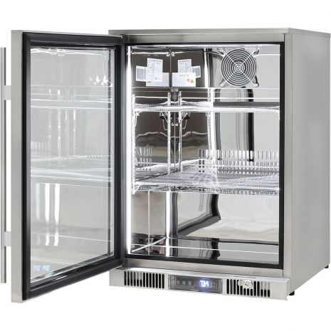 Rhino-ENV1L-SS-Alfresco-316-Stainless-Bar-Fridge-Left-Hinged  3
