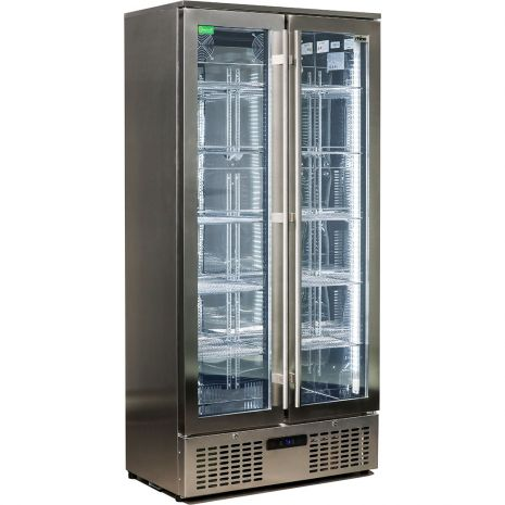 Rhino-Upright-Commercial-Energy-Efficient-Glass-Front-Fridge-SGT2-SS