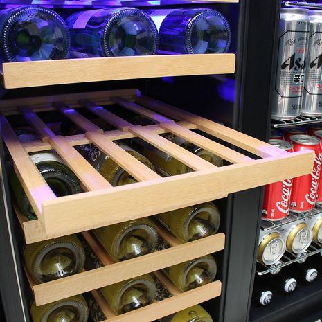 Schmick-Dual-Zone-Beer-And-Wine-Refrigerator-Quiet-Under-Bench  8