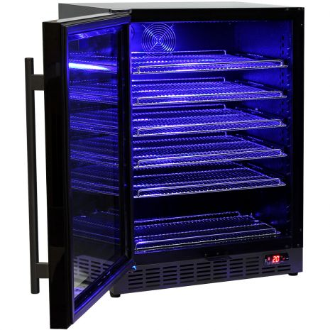 Schmick-Under-Bench-Bar-Fridge-Black-Cold-Beer-Quiet-Model-SK151BG  4
