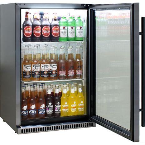 Schmick-1Door-Alfresco-Refrigerator-SK118R-BS  10