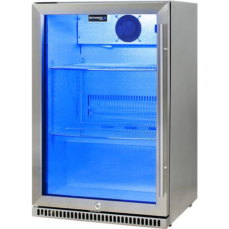 Schmick-Alfresco-Refrigerator-Heated-Glass-Door-SK118L-SS  1