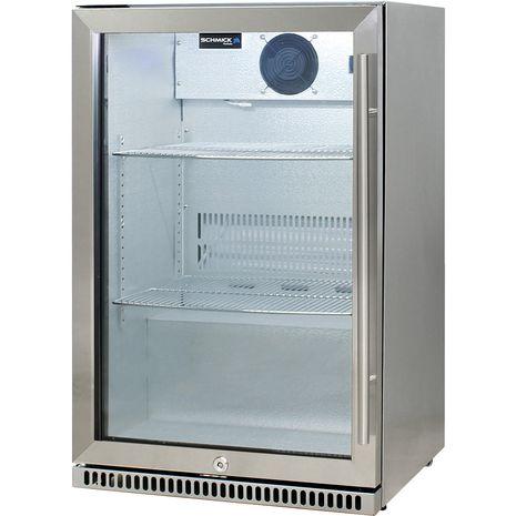 Schmick-Alfresco-Refrigerator-Heated-Glass-Door-SK118L-SS  7