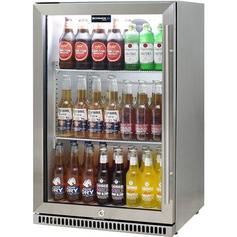Schmick-Alfresco-Refrigerator-Heated-Glass-Door-SK118L-SS  9