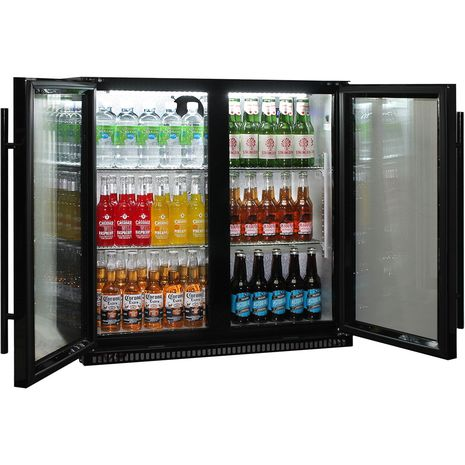 Schmick-Outdoor-Fridge-Black-2Door-SK190-B  10