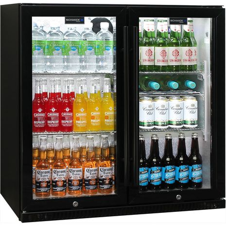 Schmick-Outdoor-Fridge-Black-2Door-SK190-B  11