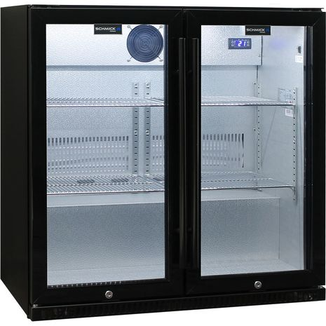 Schmick-Outdoor-Fridge-Black-2Door-SK190-B  7
