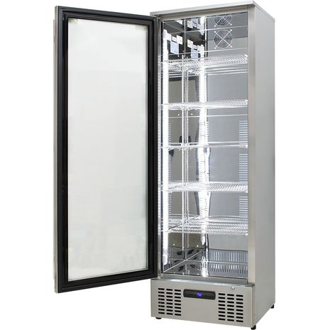 Upright-Stainless-Steel-LOw-Energy-Bar-Fridge-SGT1L-SS  2