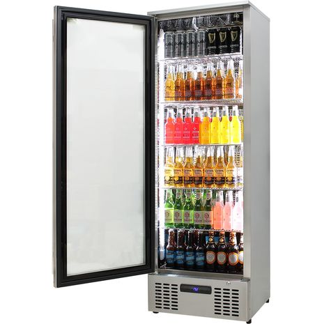 Upright-Stainless-Steel-LOw-Energy-Bar-Fridge-SGT1L-SS  4