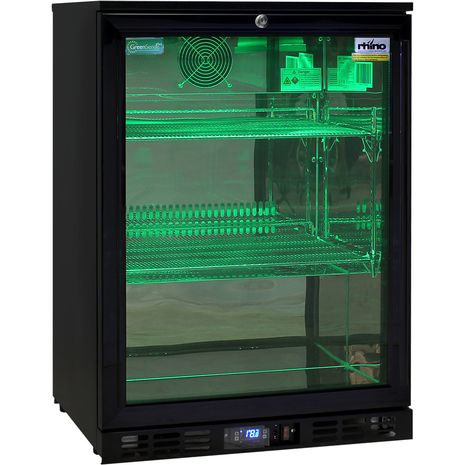 Rhino-1-Door-Commercial-Bar-Fridge-With-Multi-Led-Lights  3