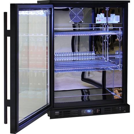 Rhino-1-Door-Commercial-Bar-Fridge-With-Multi-Led-Lights  7